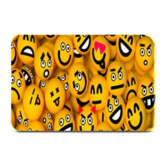 Smileys Linus Face Mask Cute Yellow Plate Mats