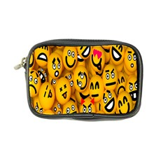 Smileys Linus Face Mask Cute Yellow Coin Purse