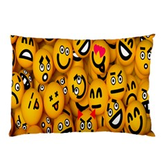 Smileys Linus Face Mask Cute Yellow Pillow Case (two Sides)