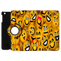 Smileys Linus Face Mask Cute Yellow Apple Ipad Mini Flip 360 Case by Mariart