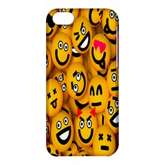 Smileys Linus Face Mask Cute Yellow Apple Iphone 5c Hardshell Case by Mariart