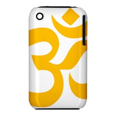 Hindu Gold Symbol (gold) Iphone 3s/3gs by abbeyz71