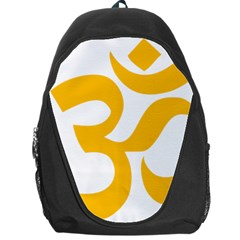 Aum Om Gold Backpack Bag by abbeyz71