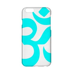 Aum Om Cyan Apple Iphone 6/6s Hardshell Case