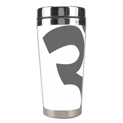 Hindu Om Symbol (dark Gray)  Stainless Steel Travel Tumblers by abbeyz71
