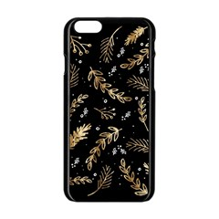 Kawaii Wallpaper Pattern Apple Iphone 6/6s Black Enamel Case by Nexatart