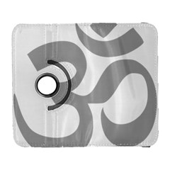Hindu Om Symbol (light Gray) Galaxy S3 (flip/folio) by abbeyz71