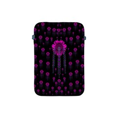 Wonderful Jungle Flowers In The Dark Apple Ipad Mini Protective Soft Cases by pepitasart