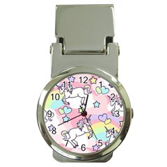 Unicorn Rainbow Money Clip Watches