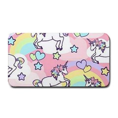 Unicorn Rainbow Medium Bar Mats