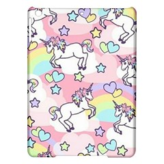 Unicorn Rainbow Ipad Air Hardshell Cases by Nexatart
