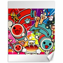 Cute Doodles Wallpaper Background Canvas 18  X 24   by Nexatart