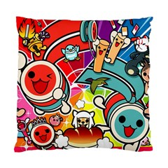 Cute Doodles Wallpaper Background Standard Cushion Case (one Side)