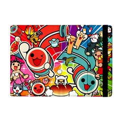 Cute Doodles Wallpaper Background Apple Ipad Mini Flip Case by Nexatart
