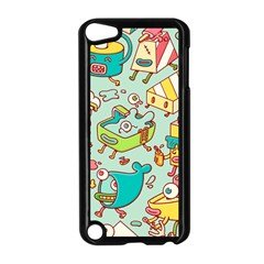 Summer Up Pattern Apple Ipod Touch 5 Case (black) by Nexatart
