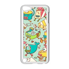 Summer Up Pattern Apple Ipod Touch 5 Case (white)