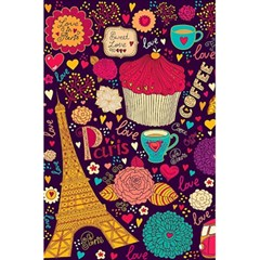 Cute Colorful Doodles Colorful Cute Doodle Paris 5 5  X 8 5  Notebooks by Nexatart