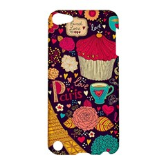 Cute Colorful Doodles Colorful Cute Doodle Paris Apple Ipod Touch 5 Hardshell Case by Nexatart