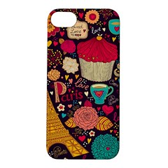 Cute Colorful Doodles Colorful Cute Doodle Paris Apple Iphone 5s/ Se Hardshell Case by Nexatart