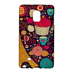 Cute Colorful Doodles Colorful Cute Doodle Paris Galaxy Note Edge by Nexatart