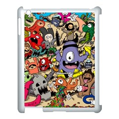 Hipster Wallpaper Pattern Apple Ipad 3/4 Case (white)