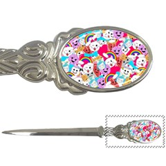 Cute Cartoon Pattern Letter Openers by Nexatart