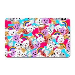 Cute Cartoon Pattern Magnet (rectangular)