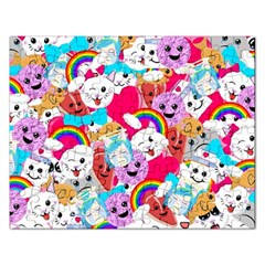 Cute Cartoon Pattern Rectangular Jigsaw Puzzl by Nexatart