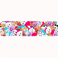 Cute Cartoon Pattern Large Bar Mats by Nexatart