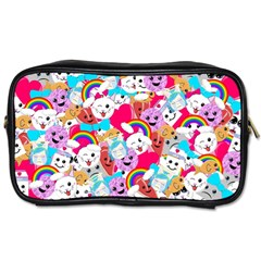 Cute Cartoon Pattern Toiletries Bags 2 Side by Nexatart