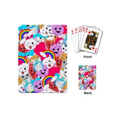 Cute Cartoon Pattern Playing Cards (mini)