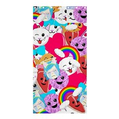 Cute Cartoon Pattern Shower Curtain 36  X 72  (stall)  by Nexatart