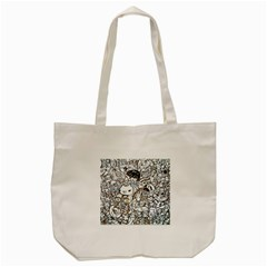Cute Doodles Tote Bag (cream)