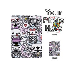 Kawaii Graffiti And Cute Doodles Playing Cards 54 (mini)  by Nexatart