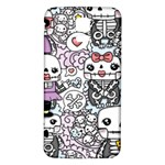 Kawaii Graffiti And Cute Doodles Samsung Galaxy S5 Back Case (White) Front