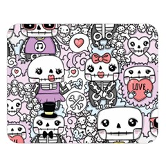 Kawaii Graffiti And Cute Doodles Double Sided Flano Blanket (large)  by Nexatart