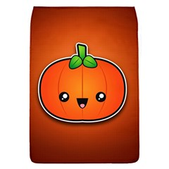 Simple Orange Pumpkin Cute Halloween Flap Covers (s)  by Nexatart
