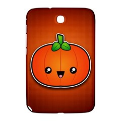 Simple Orange Pumpkin Cute Halloween Samsung Galaxy Note 8 0 N5100 Hardshell Case  by Nexatart