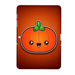 Simple Orange Pumpkin Cute Halloween Samsung Galaxy Tab 2 (10 1 ) P5100 Hardshell Case