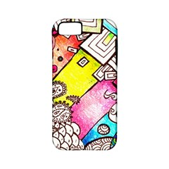 Beautiful Colorful Doodle Apple Iphone 5 Classic Hardshell Case (pc+silicone)