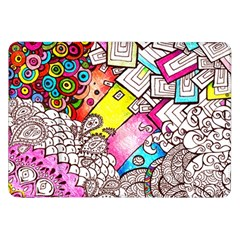 Beautiful Colorful Doodle Samsung Galaxy Tab 8 9  P7300 Flip Case by Nexatart