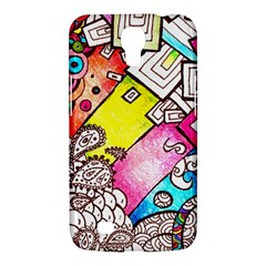Beautiful Colorful Doodle Samsung Galaxy Mega 6 3  I9200 Hardshell Case