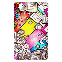 Beautiful Colorful Doodle Samsung Galaxy Tab Pro 8 4 Hardshell Case