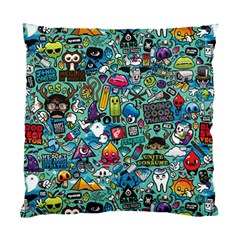 Colorful Drawings Pattern Standard Cushion Case (one Side) by Nexatart