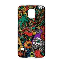 Monsters Colorful Doodle Samsung Galaxy S5 Hardshell Case