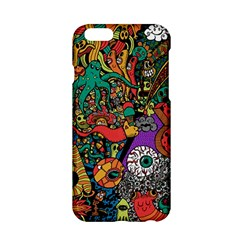 Monsters Colorful Doodle Apple Iphone 6/6s Hardshell Case by Nexatart