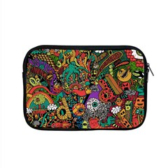 Monsters Colorful Doodle Apple Macbook Pro 15  Zipper Case by Nexatart
