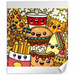 Cute Food Wallpaper Picture Canvas 8  X 10