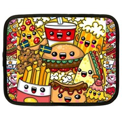 Cute Food Wallpaper Picture Netbook Case (xxl)  by Nexatart