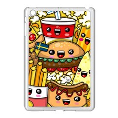 Cute Food Wallpaper Picture Apple Ipad Mini Case (white) by Nexatart